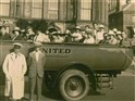 Charabanc with Driver & Conductor