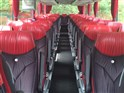 Inside one of the Coaches
