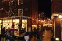 Holt Christmas Lights switch on